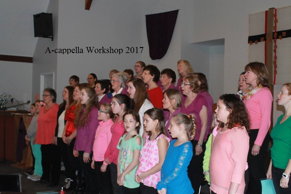 a-cappella workshop